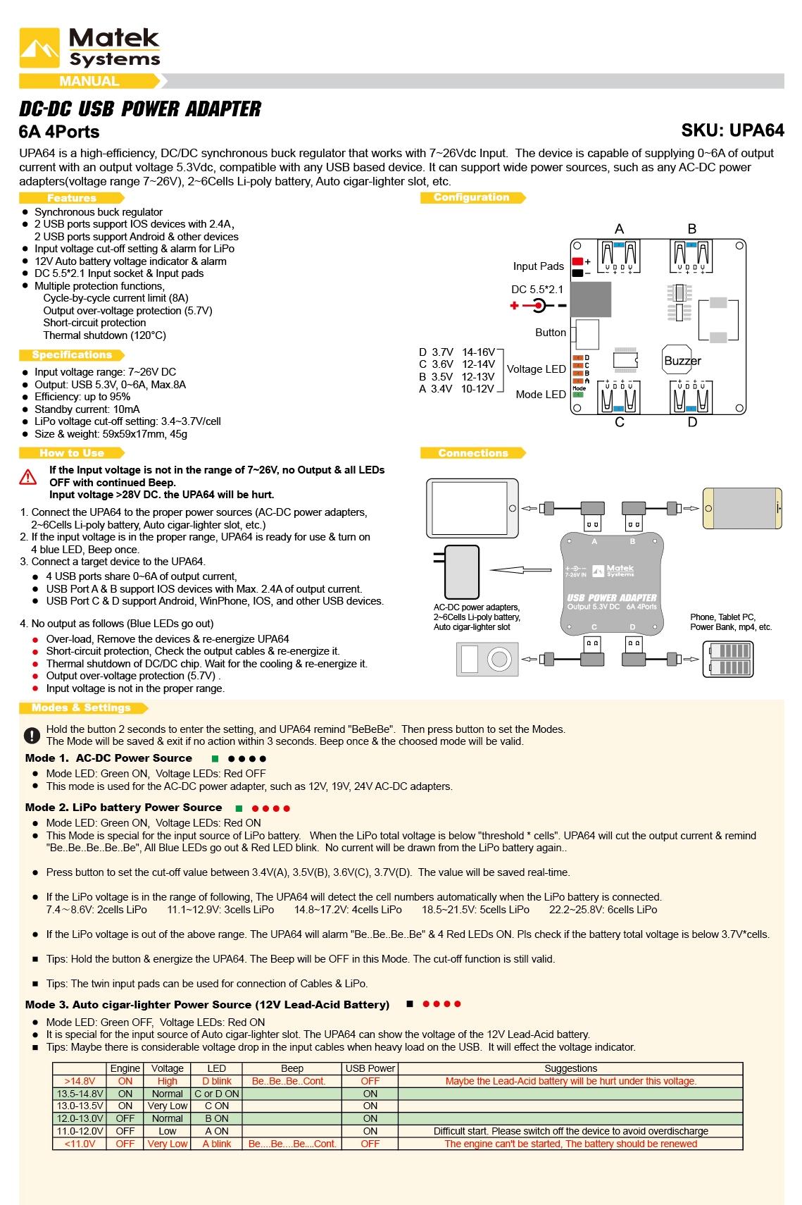 UPA64_V2_Manual_EN
