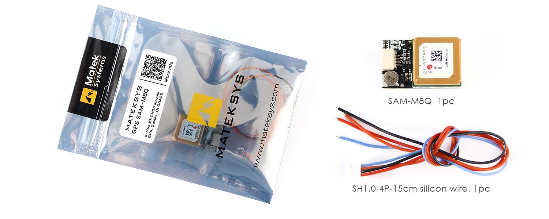 GPS ublox SAM-M8Q – Matek Systems